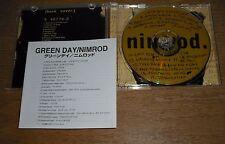 GREEN DAY NIMROD JAPAN MINT CD clash stranglers punk sum 41 blink182 nofx rancid