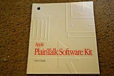 Apple Plaintalk Software Kit (manual)