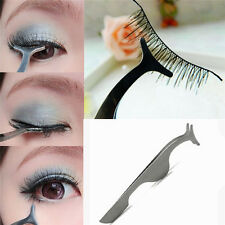 1 x Beauty False Eyelashes Extension Applicator Remover Clip Tweezer Nipper Tool