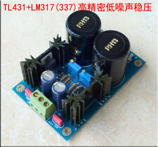 LM317 LM337+TL431 high precision linear regulated power supply