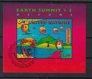 UNO ONU UN New York 1997 - Earth Summit Environment Oceans  / used