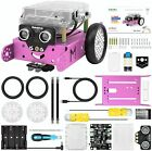 mBot Pink Robot Kit with Arduino/Scratch Coding, Remote Control, Building toys