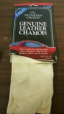 The Detailer so Choice, Tanners Select, 3 SQFT, Genuine Natural Chamois