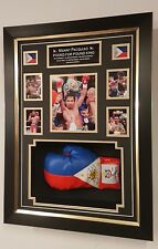 *** Rare Manny Pacquiao Signed boxing Glove Display ***