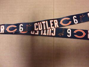 NFL #6 Cutler Chicago Bears Sports Team Football Lanyard
