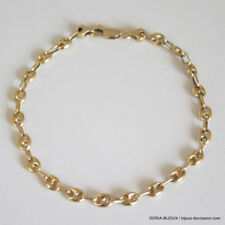 Bracelet Or 750 18k Grain De Cafe 21Cm 5.8grs- - Bijoux occasion