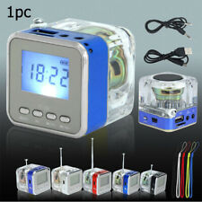 Hi-speed|USB Mini Speaker|NIZHI TT-028|Loudspeaker LED Display FM Radio Speaker
