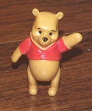 "Walt Disney ""Pooh Bear"" From Winnie the Pooh 2"" Inches Tall PVC Figurine Toy!"