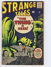 Strange Tales 79 (G) 1960 Marvel Comics Ditko Kirby proto Dr Strange (c#24248)