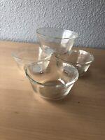 Vintage Pyrex Custard Cups Ramekin Bowls 463 6oz Scalloped