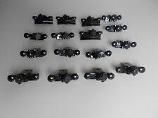 Lego® Eisenbahn RC Zubehör  16x Puffer schwarz mit Magnet    Neu