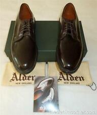 $722 BNIB Alden Plain Toe Blucher Color 8 Shell Cordovan Size 10 Barrie Last 990