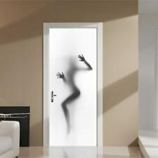 3D Sexy Girl Door Wall Fridge Sticker Wrap Mural Self Adhesive Home Decor Decal