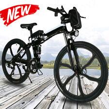 26INCH Electric Bike Folding Mountain Bicycles E-Bike Shimano 21Speed Cycling