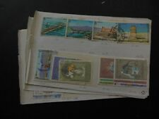 UAE : Nice collection of mostly Used singles & sets on Old Time pages. Cat $332.
