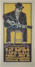 2008 Ray Davies - Portland Silkscreen Concert Poster S/N by Gary Houston