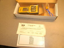 Fisherbrand Traceable Total-Range Thermometer 15-077-14, Batteries Leaked, Cert.