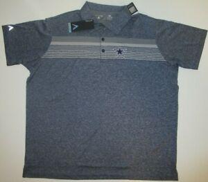 New Dallas Cowboys Authentic NFL Football Men's size 2XL Antigua Polo Golf Shirt