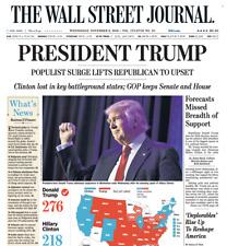 Original Election Final - The Wall Street Journal Nov. 9, 2016