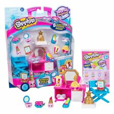 New Shopkins World Vacation Screen Idols 8 Figures Dresser Chair Official