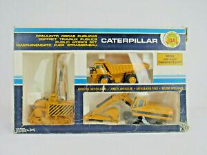 Joal Caterpillar Public Works Set CAT 591 Pipelayer 773B Truck 225 Excavator