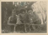 Vintage photograph, good looking shirtless young men, gay interest