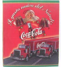 Coca-Cola - CARTONCINO ONDULATO PUBBLICITARIO BABBO NATALE
