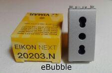 VIMAR 20203.N SERIE EIKON NEXT BIPRESA 2P+T 16A