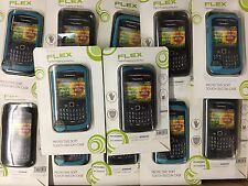 JOBLOT of 69 x PRO-TEC FLEX Twin Pack Soft Skin Case for Blackberry 8520 / 9300