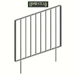 Saddlers Stable Door Grille - 3 Sizes - Galvanised - Small Medium or Large