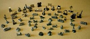 Scene it, Monopoly clue lot  game tokens, pieces. most traditional & special 59
