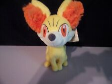 Tomy Pokemon Fennekin Fox 8-Inch Plush 2013 Doll Plush Free Shipping