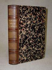 MÉMOIRES DE GRAMMONT ET CONTES  par ANTOINE HAMILTON - 1861