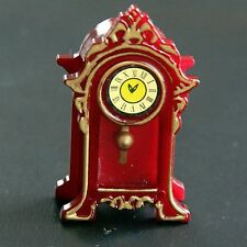 Dolls House Classic Mantle Clock 1/12th size
