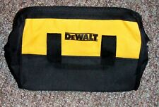 "DeWALT BLACK AND YELLOW 13 X 9 X 9""  NYLON TOOL BAG FROM 18 VOLT DCK235C KIT NEW"