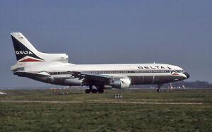 Original aircraft slide Delta Tristar N751DA