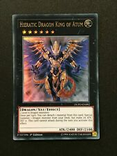Yugioh: Hieratic Dragon King of Atum DUPO-EN092 - Ultra Rare - 1st Ed