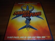 Snakes on a Plane (Dvd, 2007, Widescreen) Samuel L. Jackson Used
