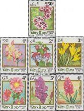 Laos 890-896 (complète edition) neuf avec gomme originale 1986 Fleurs