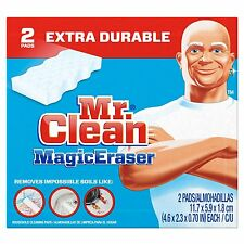Mr. Clean Extra Power Magic Eraser, 2 ct FREE WORLDWIDE SHIPPING