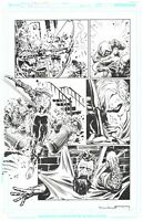 LIAM SHARP - Green Lantern Original Comic Art - Issue 8 Page 4 - Grant Morrison