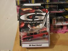 G Machines 2007 Hot Wheels 1969 Road Runner 1/50 Scale Ships World Wide