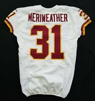 #31 Brandon Meriweather - Washington Redskins NFL Locker Room Game Issued Jersey