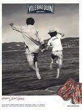 PUBLICITE ADVERTISING 2011   VILLEBEQUIN ST TROPEZ bermudas shorts de bain