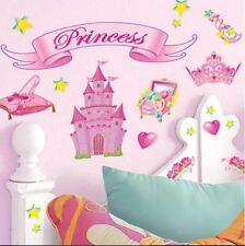 Wall Decal For Kids Room Princess Removable Wall Art Decor Bedroom Play Room