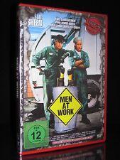 DVD MEN AT WORK - ACTION CULT 39 - UNCUT - CHARLIE SHEEN + EMILIO ESTEVEZ - MAN