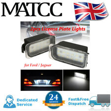 Rear License Light Plate Lights 6000K White 18-SMD LED For Jaguar XJ XF