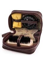 George Hardy Shoe Shine Kit Neutral Polish,Cloth,Shoe Brush With Zipper Pouch Uk