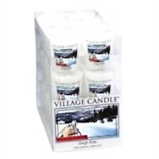 Village Candle Premium Votive - Sleigh Ride X6  NEW