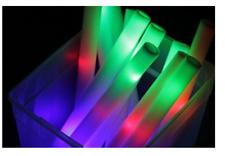 6 PCS Light Up Foam Sticks LED Wands Rally Rave Batons DJ Flashing Glow Stick